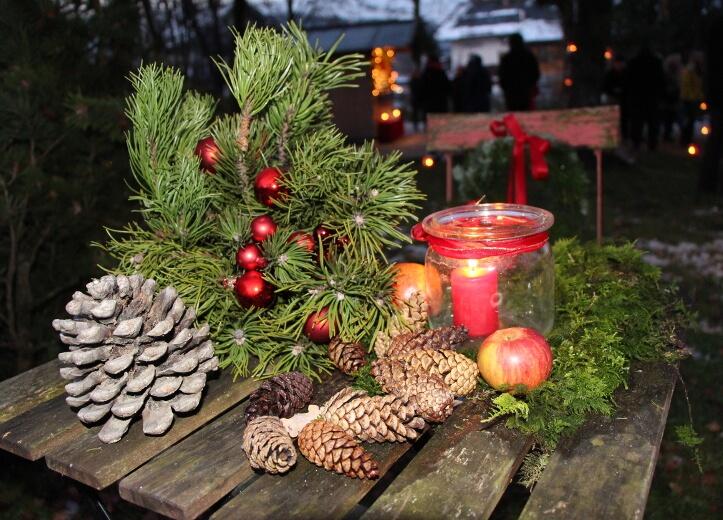 Adventsmarkt in Bergen, Chiemgau