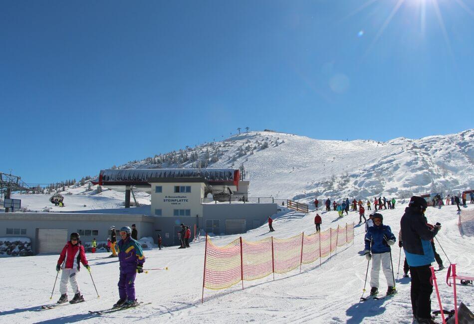 Unverhofft Kommt Ofttraum Skifahren Auf Der Steinplatte Rund Um