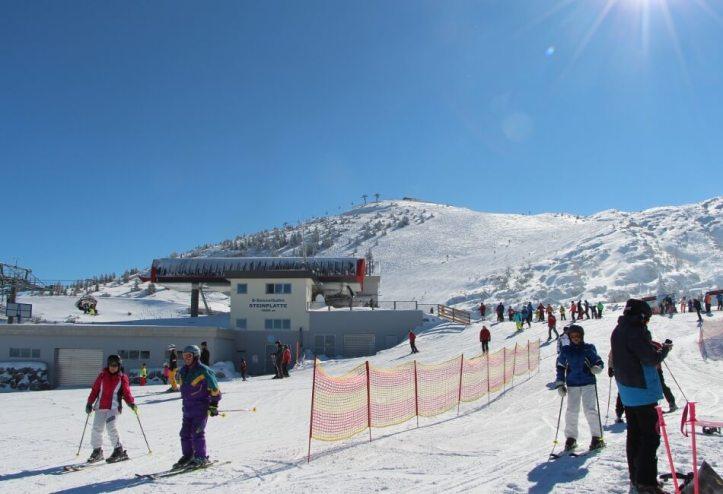 Skigebiet Steinplatte