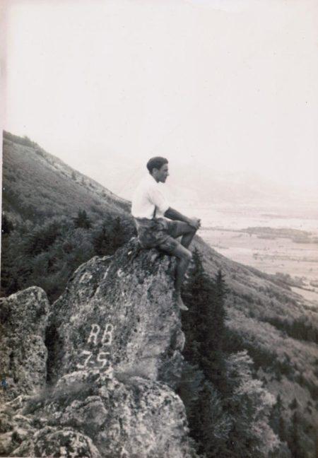 Auf dem Engelstein bei Bergen im Chiemgau
