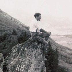 Auf dem Engelstein bei Bergen