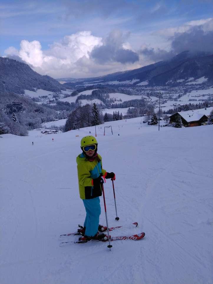 Skifahren in Ruhpolding